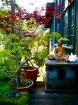 buddah porch