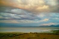 color sky wet playa