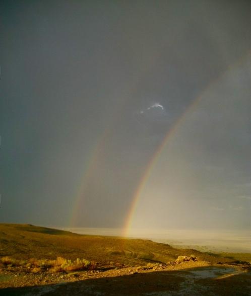 sky double rainbow