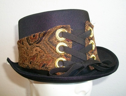 SOLD: Upcycled Hat Band