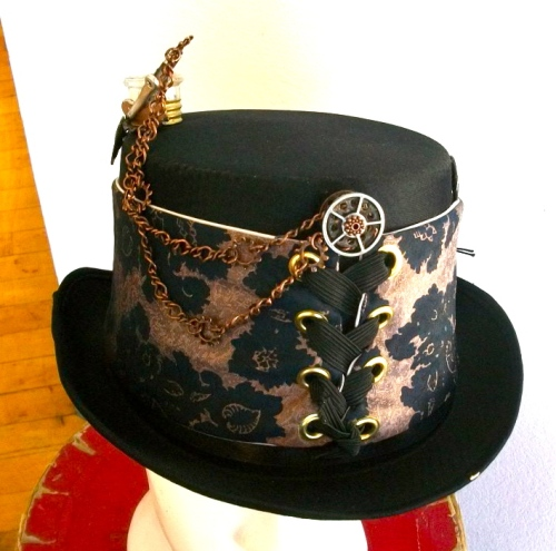 SOLD: Steam Hat with hardware