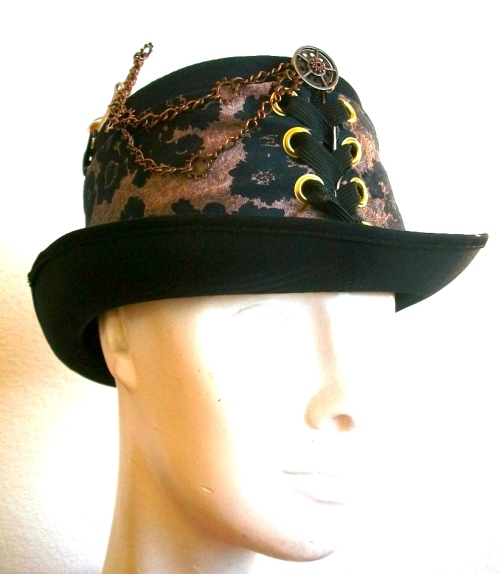SOLD: Steam hat with fuse and hardware