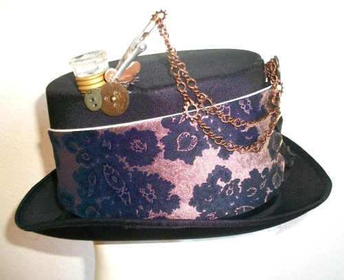 SOLDL Steam Hat with fuse, gears and chain