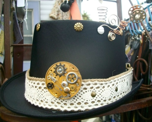 SOLD: Found Object Hat
