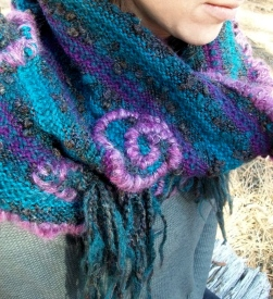 SOLD: Upcycled Infinity Scarf