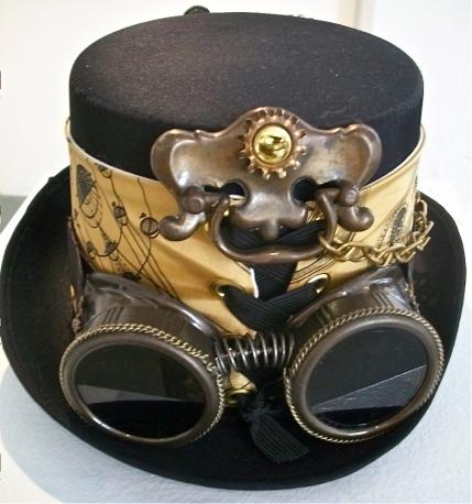 Drawer pull = Steampunk hat detail