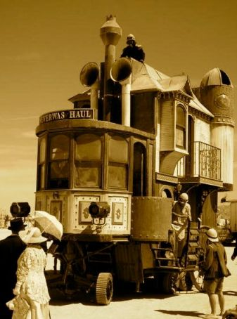 steampunk artcar