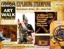 Benicia Steampunk Art Walk