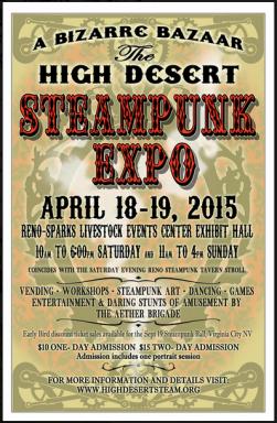 High Desert Steam April 2015