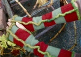 SOLD: Upcycled Fingerless Mittens
