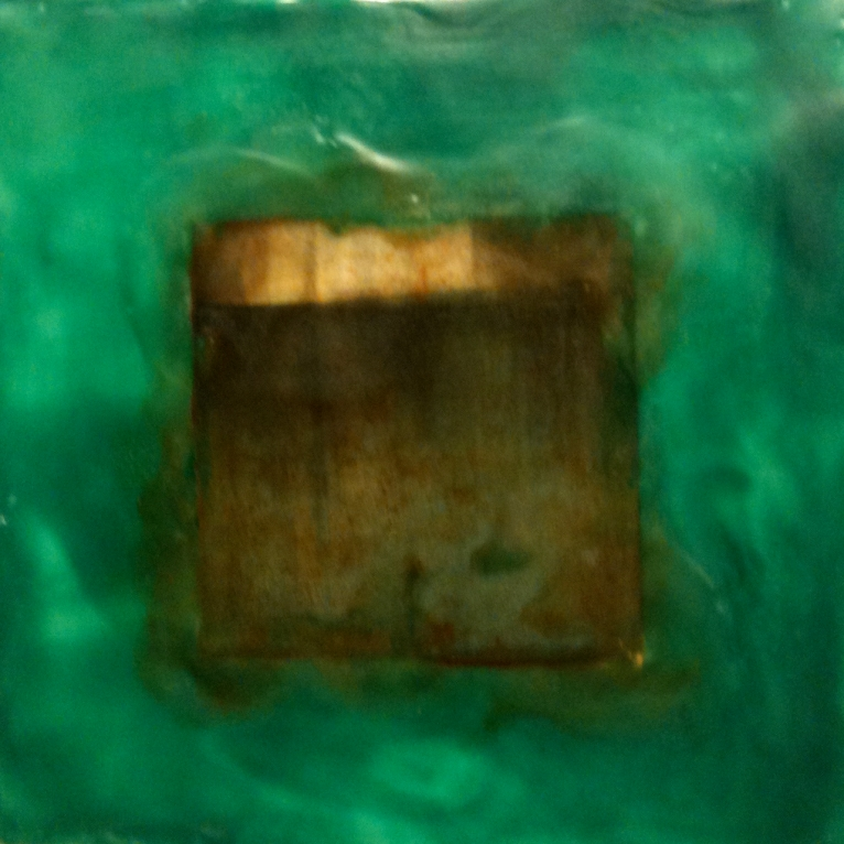 SOLD: 6X6 Aqua Mono