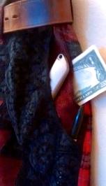Front pockets have multiple secret pockets