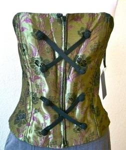 corsetgreensilk