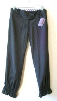 pantsblackruched