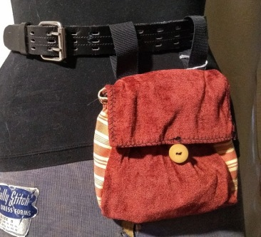 Belt Pocket Red