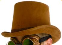 HatTopBrown