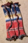 Hand Sweaters: Cashmere Lined, Cotton Stripe, Extra Long #HS10, $38