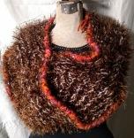 Sweater Wrap: Eyelash Brown #SW15, $38.00