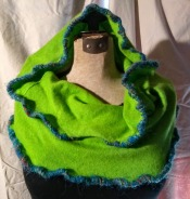 Cashmere Neck Wrap: Apple Green #NHW26, $38.00