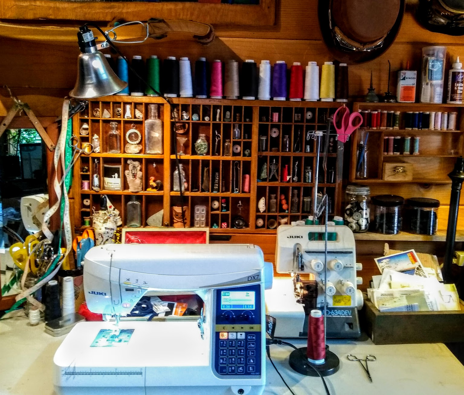 Home sewing shop