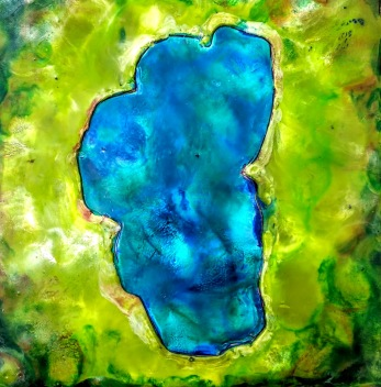7x7 lake green