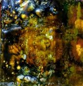 Encaustic Earth tile