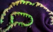 Shrug Purple Detail